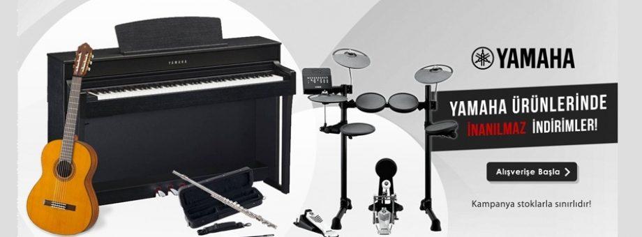 Yamaha -Casio Piyanolar Terpa Müzik'te!